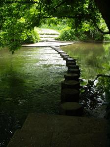 The Stepping Stones over the river Mole